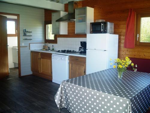 A kitchen or kitchenette at Domaine De Pradines