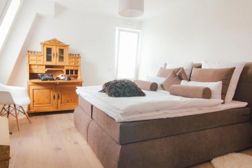 Ein Zimmer in der Unterkunft Stadtturm Regensburg
