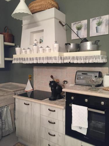 Cucina o angolo cottura di A Casa di Anna