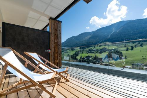 נוף הרים כללי או נוף הרים שצולם ממלון הדירות