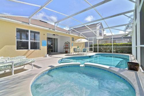 The swimming pool at or near Magic Kings House