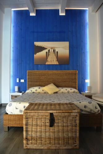 A bed or beds in a room at Beatrice Home