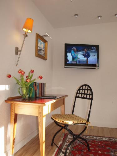 TV/Unterhaltungsangebot in der Unterkunft Hotel Hirschen