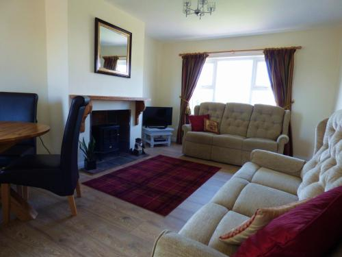 A seating area at Hope Cottage