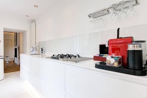 Virtuve vai virtuves aprīkojums naktsmītnē The Greyfriars Apartment