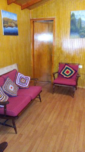 Zona de estar de Hostal Doña Juanita