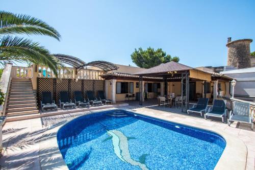 Villa Marina in Playa de Palma (Spanje Palma de Mallorca ...