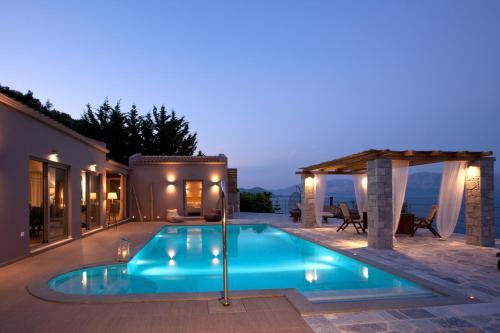 The swimming pool at or near Celestia Villas