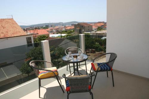 Balkón nebo terasa v ubytování Apartment Jessica
