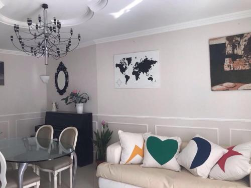 Area soggiorno di Fusco Apartment