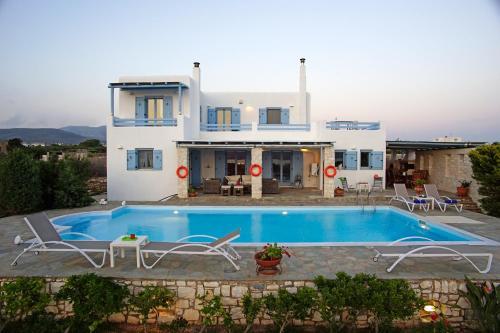 The swimming pool at or near Villa Xenia