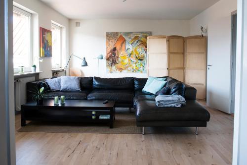 Een zitgedeelte bij Mølvangvej 2 Jelling Apartment