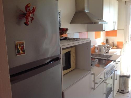 Küche/Küchenzeile in der Unterkunft Le Cap