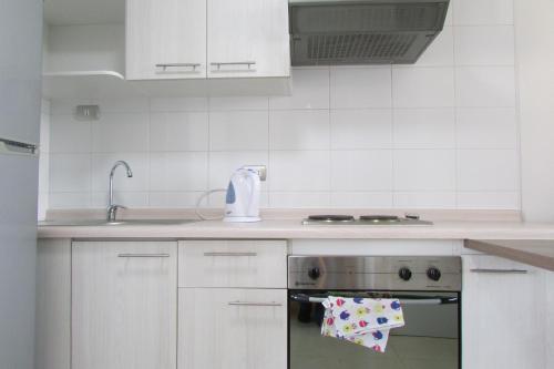 Una cocina o zona de cocina en Suit Apart Estudio