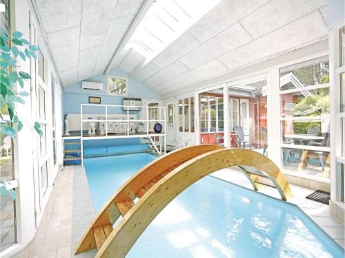 A view of the pool at Holiday home Trehøis-Åsen Gilleleje V or nearby