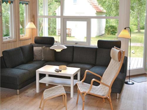 A seating area at Holiday home Smidstrup Strandvej Gilleleje IX