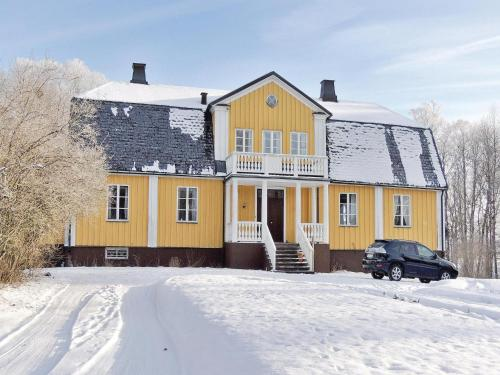 Holiday home Spånghult Älmhult during the winter
