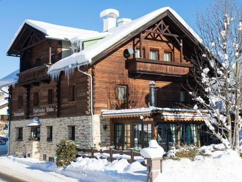 Südtiroler Stube im Winter