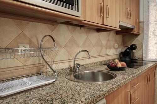 Dapur atau dapur kecil di ByC Apartamentos Realejo