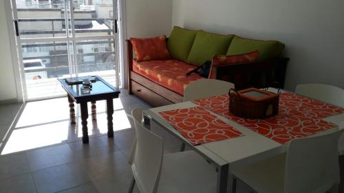 A seating area at Departamento Alem