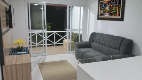 A seating area at Condominio Angra Green Coast