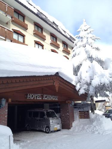Hotel Ichinose during the winter