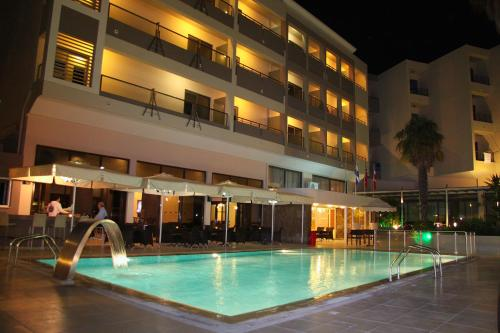 The swimming pool at or near Saint Constantine Hotel