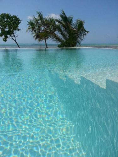 The swimming pool at or near Jaribu Beach Hotel