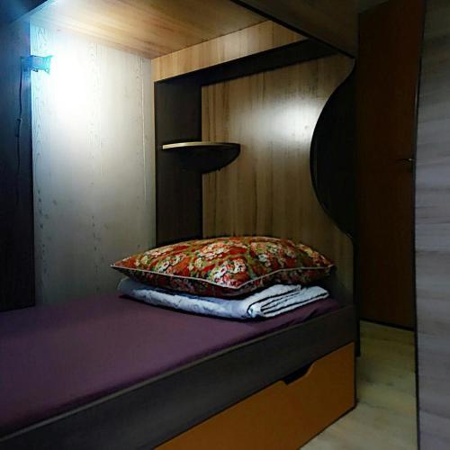 Кровать или кровати в номере Хостел Уютное Местечко