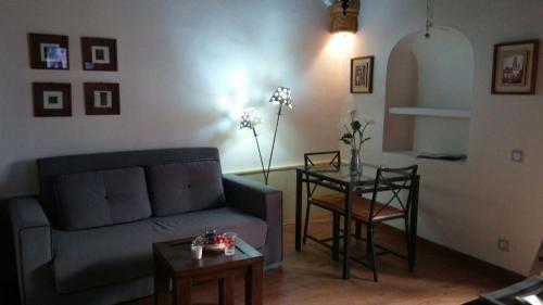 Zona de estar de Casa Campon
