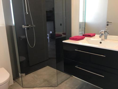 Een badkamer bij Elisesminde