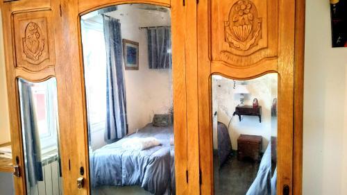 Una cama o camas en una habitación de Los Teros Catedral