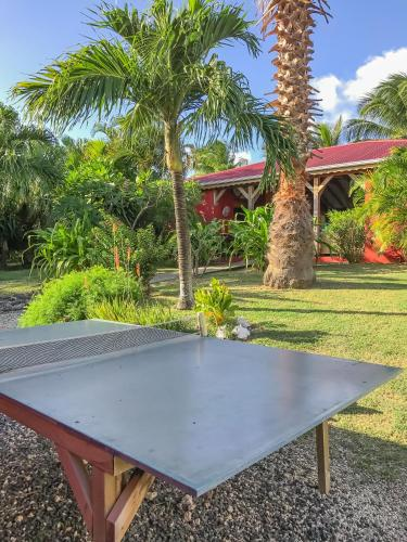 Ping-pong facilities at Sunset Surf Camp or nearby