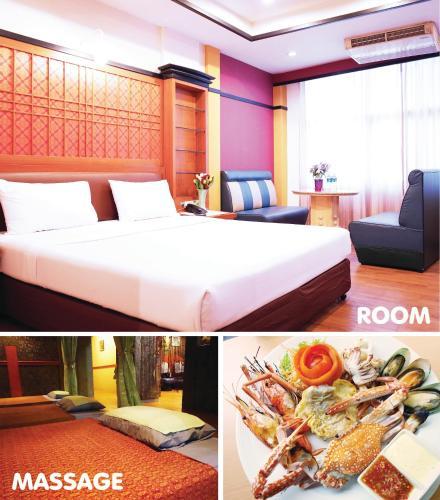 ババナ ホテルにあるベッド
