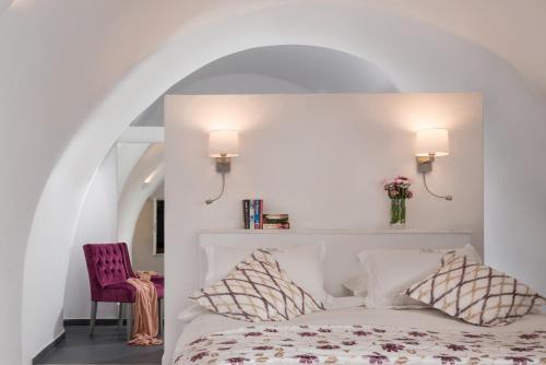Ένα ή περισσότερα κρεβάτια σε δωμάτιο στο Anteliz Private Villa