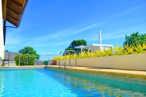 The swimming pool at or close to Shambala Terraces - Boracay Apartments