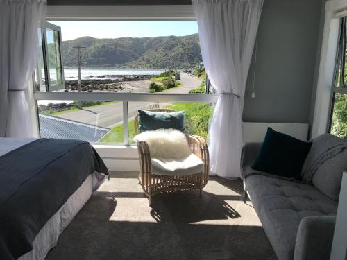 Zona de estar de Wellington Beach Suite