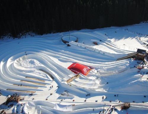 Le Liseron during the winter