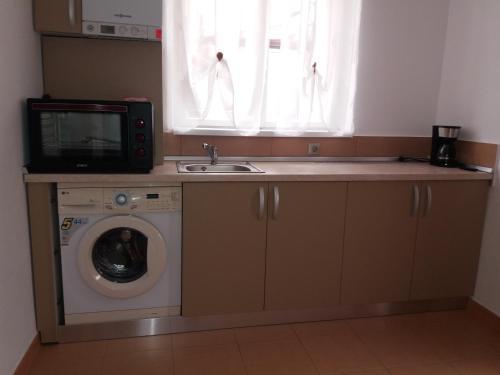 Kjøkken eller kjøkkenkrok på Ru & An