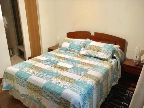 Cama ou camas em um quarto em Departamento San Diego