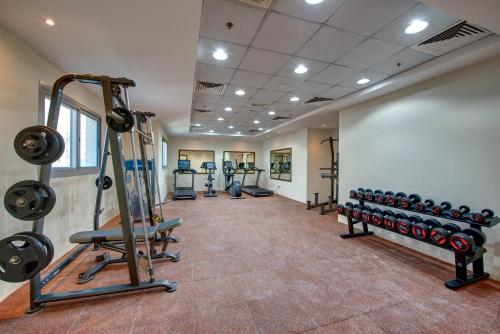 The fitness center and/or fitness facilities at Class Hotel Apartments