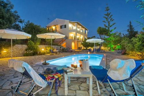 The swimming pool at or close to Galazio Sunset Villas