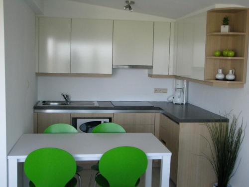 Een keuken of kitchenette bij Appartement Iris