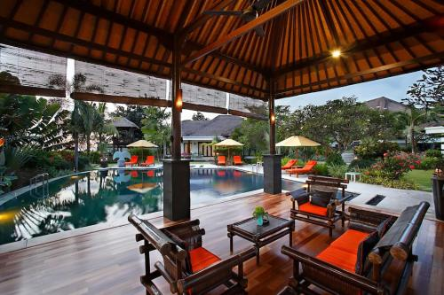 The swimming pool at or close to Villa L'Orange Bali