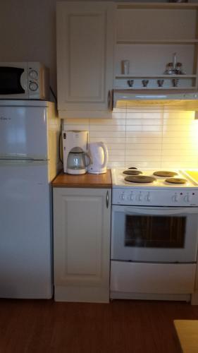 Kitchen o kitchenette sa Flåm Marina