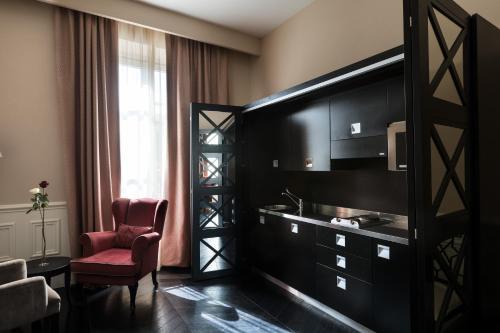 TV o dispositivi per l'intrattenimento presso Cavalieri Palace Luxury Residences