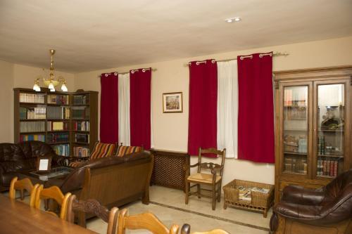 Zona de estar de Casa Rural La Biblioteca