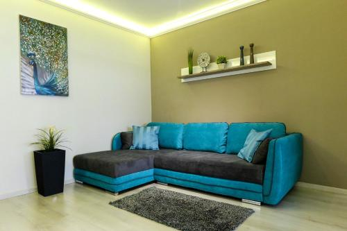 A seating area at Asbóth Taylor Apartment