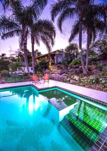 A piscina localizada em Pousada The Rosebud ou nos arredores