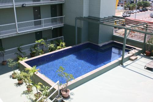 A view of the pool at Luma Luma Holiday Apartments or nearby